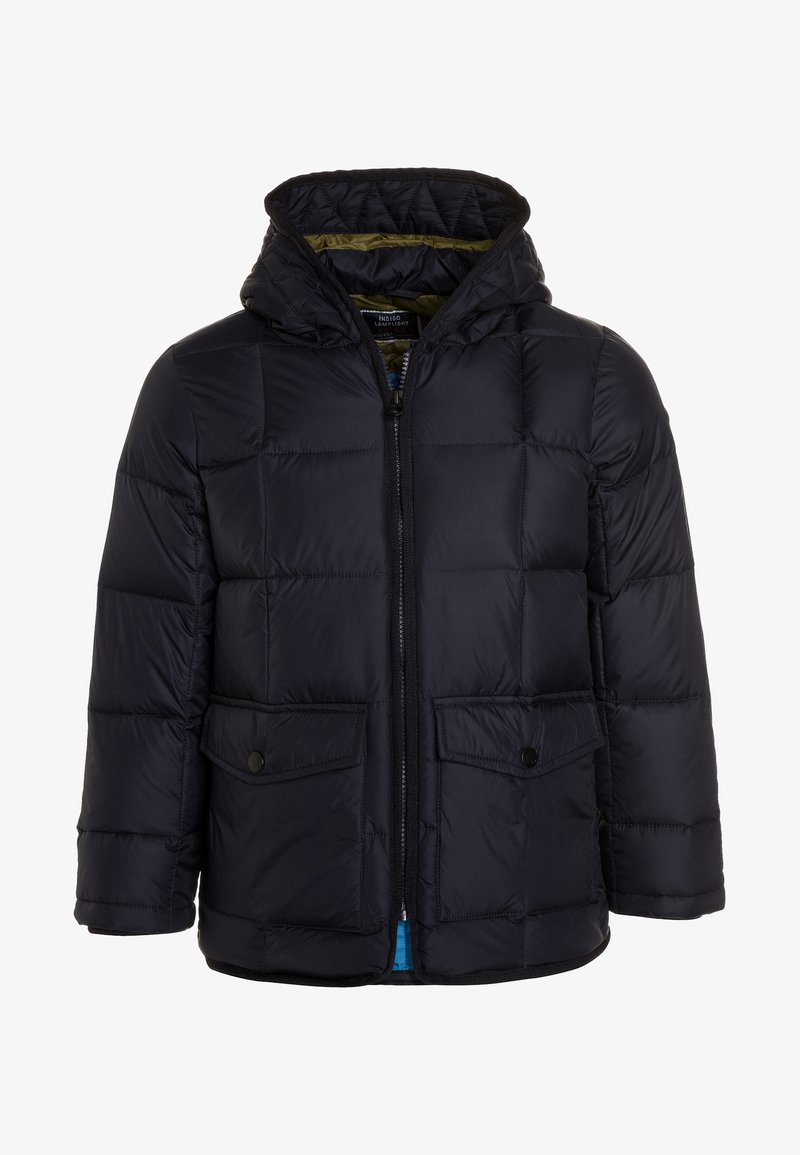 Scotch & Soda - SQUARE QUILTED JACKET WITH HOOD - Winter jacket - night