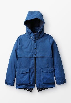 DETACHABLE HOOD AND INNER JACKET 2-IN-1 - Parka - blue summit