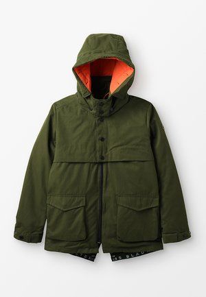 DETACHABLE HOOD AND INNER JACKET 2-IN-1 - Parkatakki - moss green