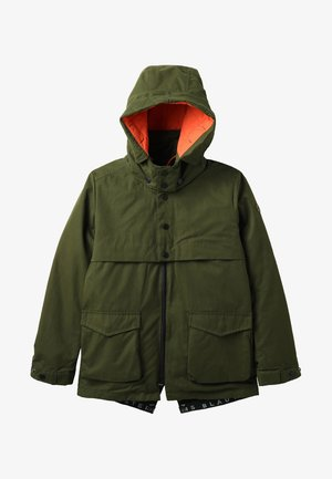 DETACHABLE HOOD AND INNER JACKET 2-IN-1 - Parka - moss green