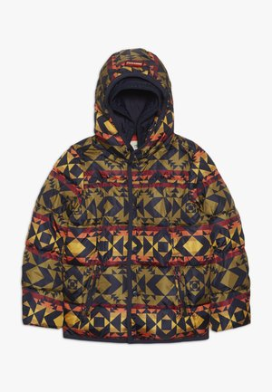 JACKET WITH DOUBLE HOOD CONSTRUCTION - Winterjas - multi-coloured