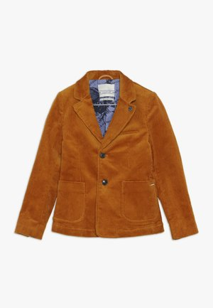Suit jacket - ochre