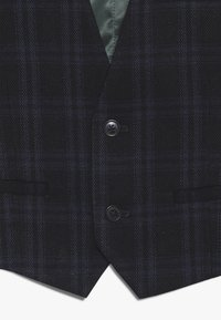 Scotch & Soda - CLASSIC GILET IN STRUCTURED QUALITY - Vesta do obleku - blue - 3