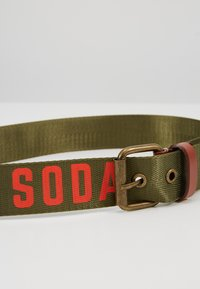 Scotch Shrunk - PRINTED BELT - Belt - military - 2