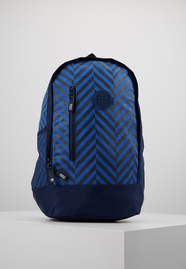 SCOTCH SHRUNK BACKPACK - Rygsække - blue