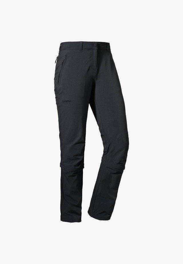 "SCHÖFFEL DAMEN WANDERHOSE ""ENGADIN ZIP OFF"" - Outdoor trousers - black"