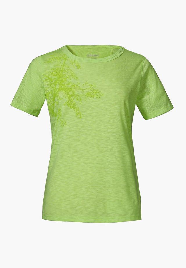 KINSHASA - Print T-shirt - grün