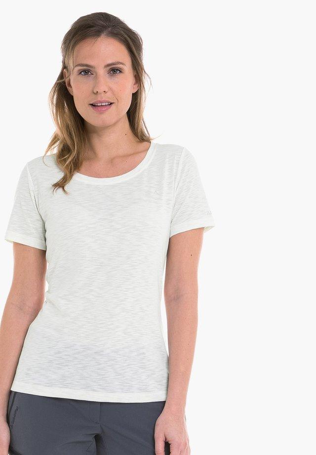 VERVIERS - Basic T-shirt - white