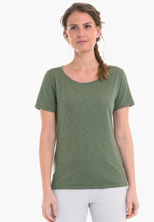 VERVIERS - Basic T-shirt - green