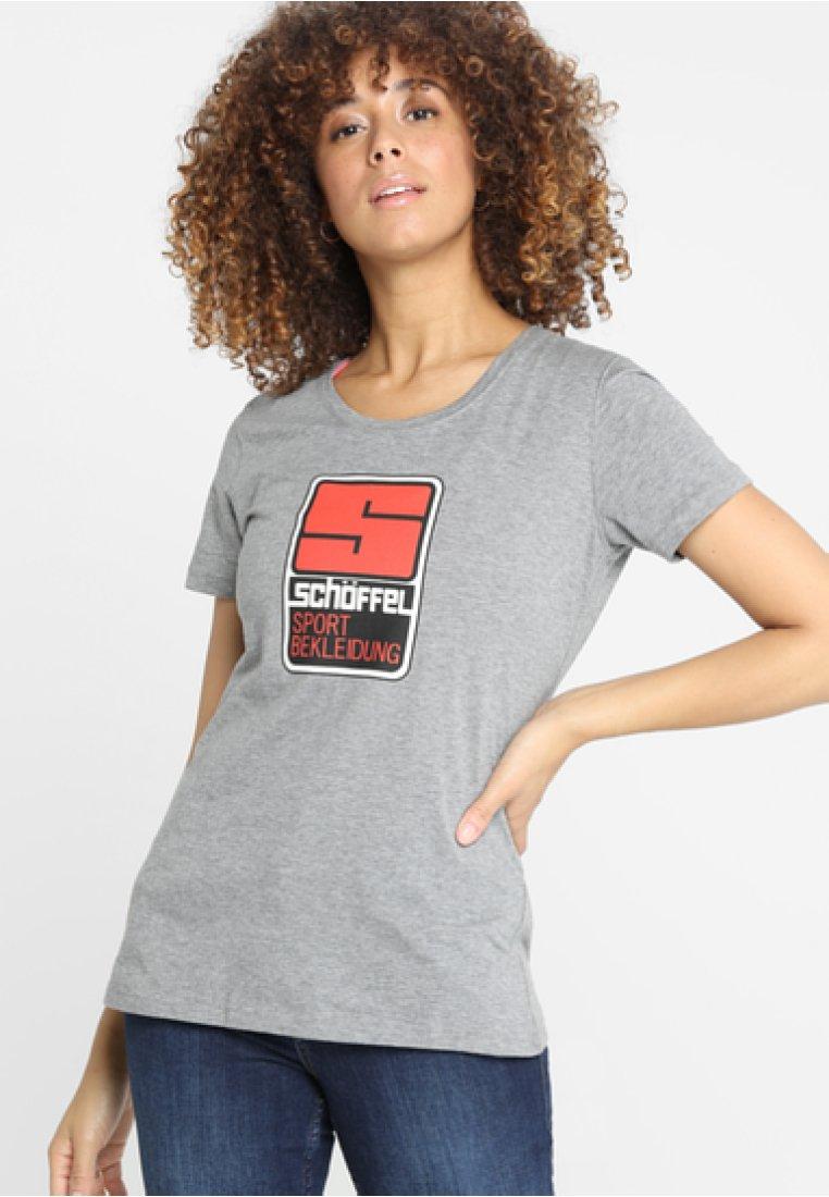 Schöffel - T-Shirt print - silver filigree