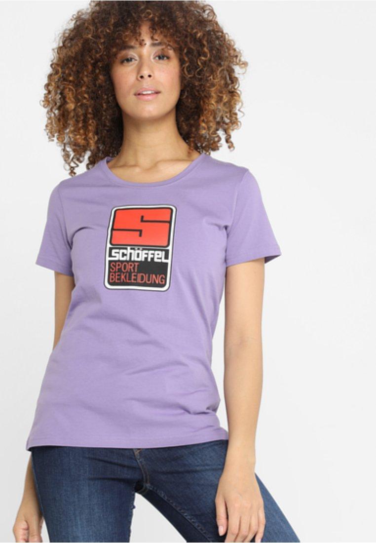 Schöffel - ORIGINALS KITIMAT L - T-Shirt print - purple haze