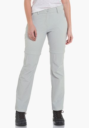 ASCONA ZIP OFF - Outdoor trousers - 9180 - grau