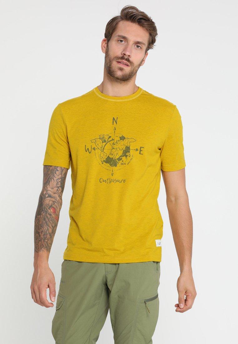 Schöffel - PERTH - Printtipaita - gelb