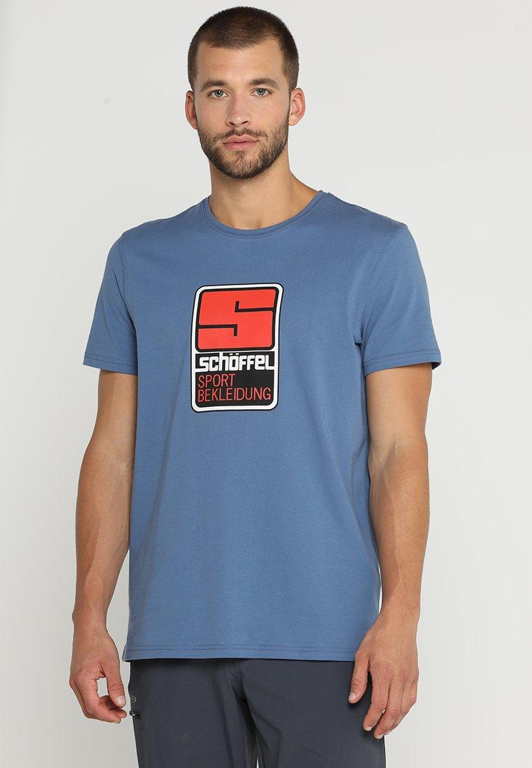 Schöffel - ORIGINALS KITIMAT - T-shirt imprimé - blau