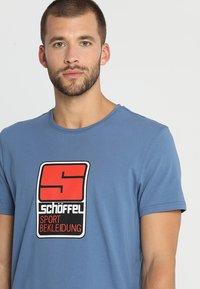 Schöffel - ORIGINALS KITIMAT - T-shirt imprimé - blau - 4