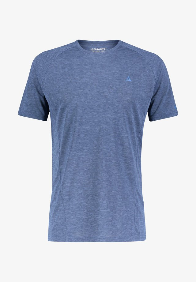 BOISE - Print T-shirt - nachtblau (301)