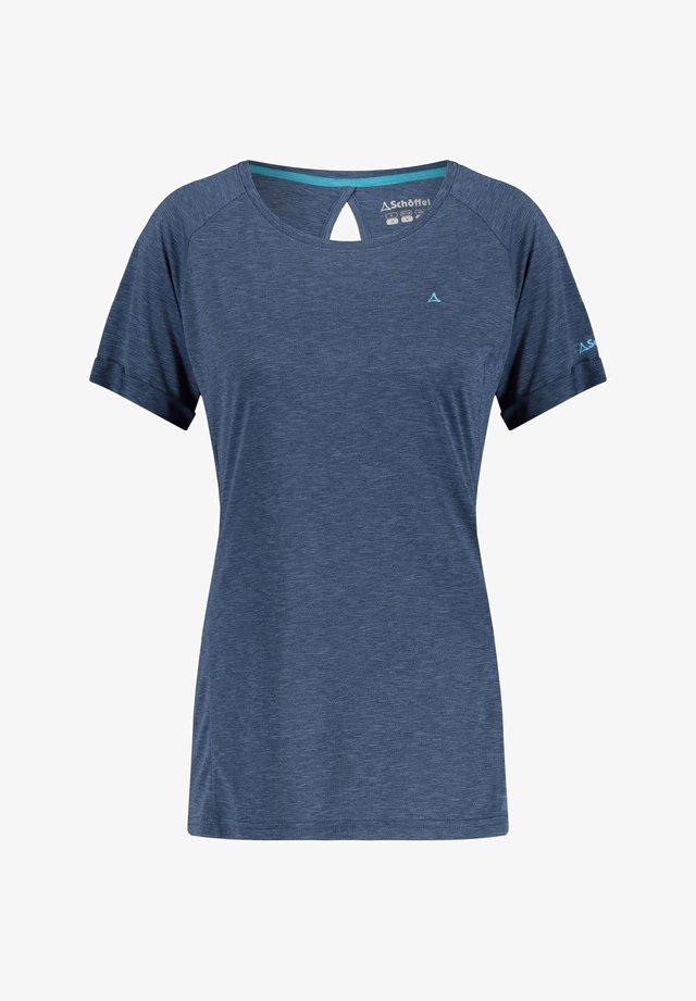 BOISE - Basic T-shirt - marine (300)