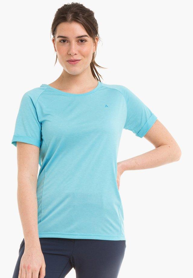 BOISE - Basic T-shirt - blue