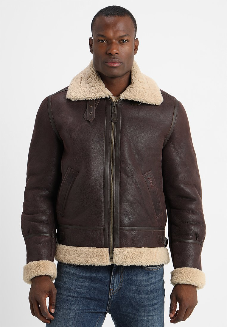 Schott - Leather jacket - cordovan
