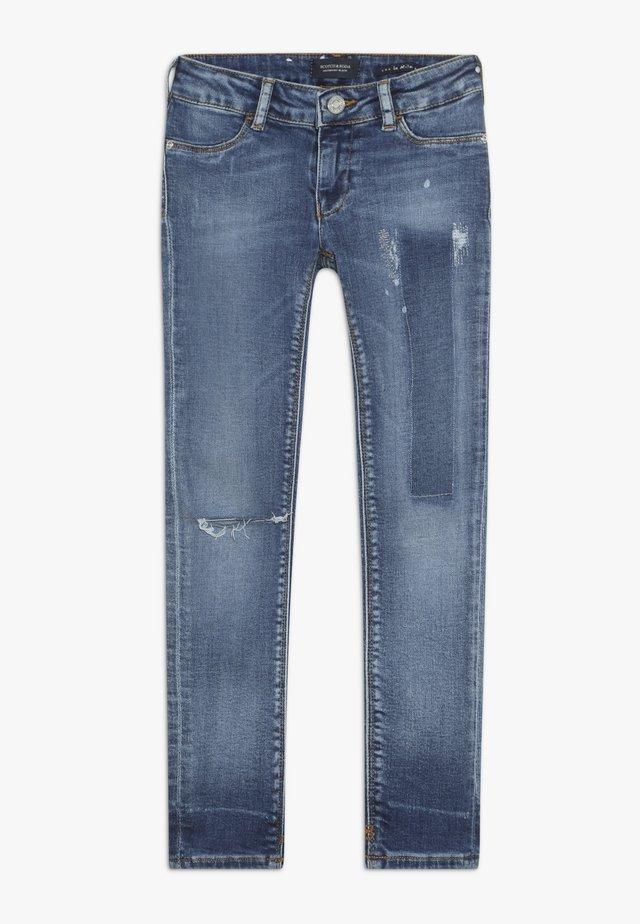 LA MILOU  - Skinny džíny - mysterious blue