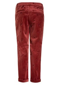 Scotch R'Belle - ALLOVER EMBROIDERED TAILORED PANTS - Pantalones chinos - brick - 1