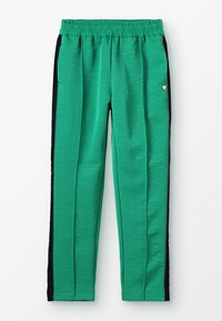 Scotch & Soda - DRAPEY PANTS WITH SIDE TAPES - Tracksuit bottoms - paradise green - 0