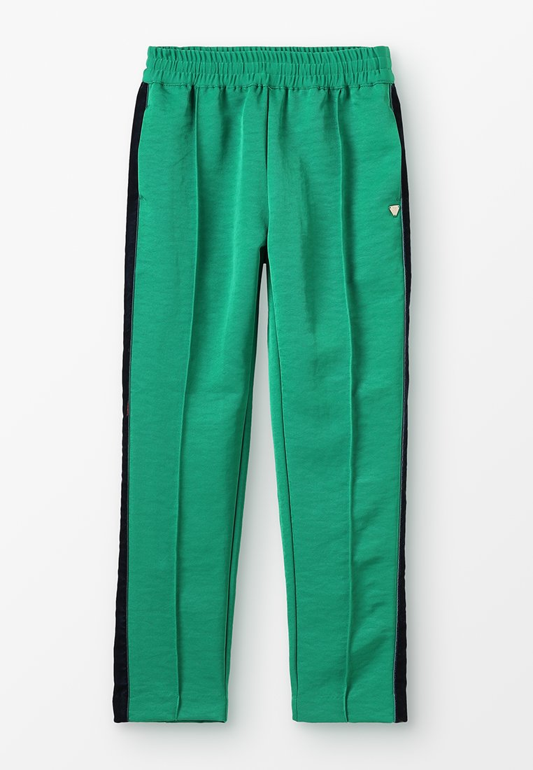 Scotch & Soda - DRAPEY PANTS WITH SIDE TAPES - Tracksuit bottoms - paradise green