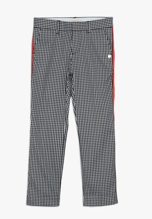 WITH CONTRAST SIDE PANEL DETAIL - Pantalones chinos - black