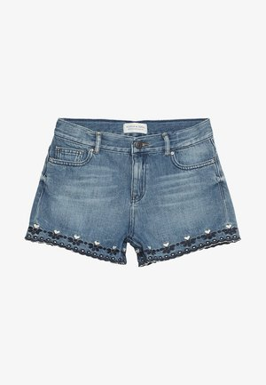 HIGH WAIST - Jeans Short / cowboy shorts - marvelous