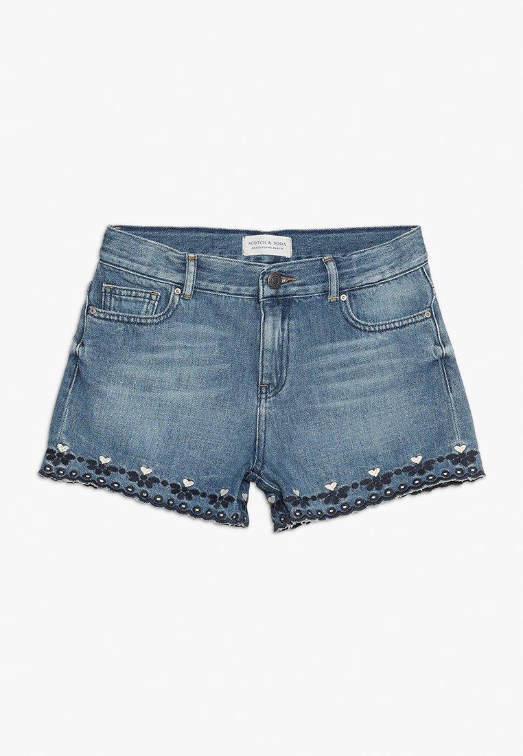 Scotch & Soda - HIGH WAIST - Jeans Shorts - marvelous