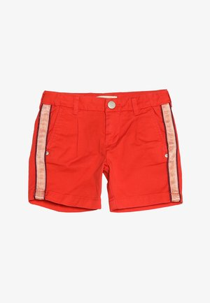 LONGER LENGTH WITH CONTRAST SIDE PANELS - Short - hot coral