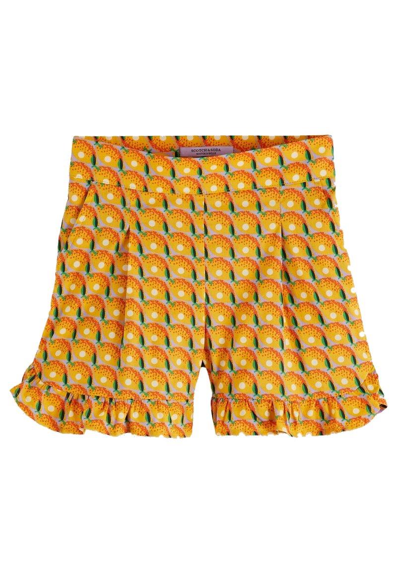 Scotch & Soda - WITH RUFFLE - Shorts - orange