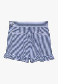 Scotch & Soda - WITH RUFFLE - Shorts - blue/white - 1