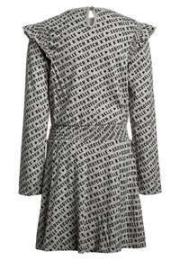 Scotch R'Belle - ALLOVER PRINTED DRESS WITH RUFFLES - Jerseykjoler - grey - 1