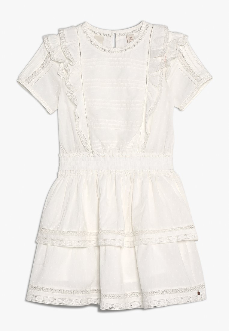 Scotch R'Belle - RUFFLE DRESS WITH TAPES - Sukienka letnia - off white