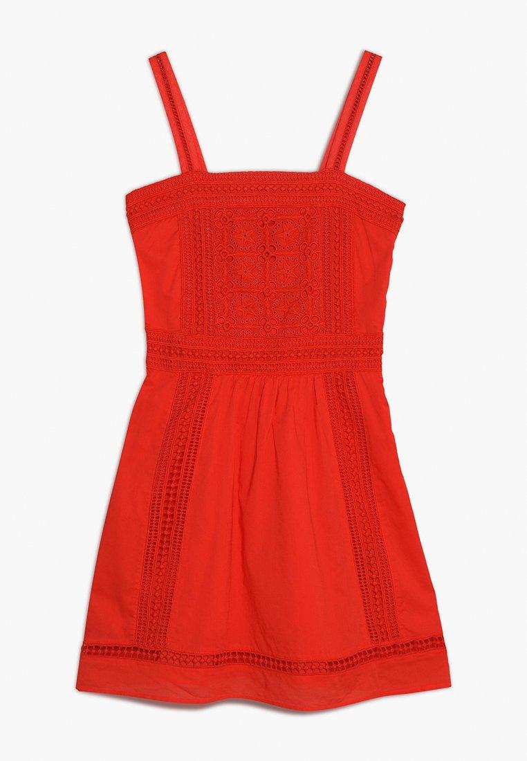 Scotch R'Belle - EMBROIDERIES ANGLAISE DRESS - Korte jurk - mars red