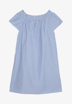 OFF SHOULDER DRESS - Freizeitkleid - blue