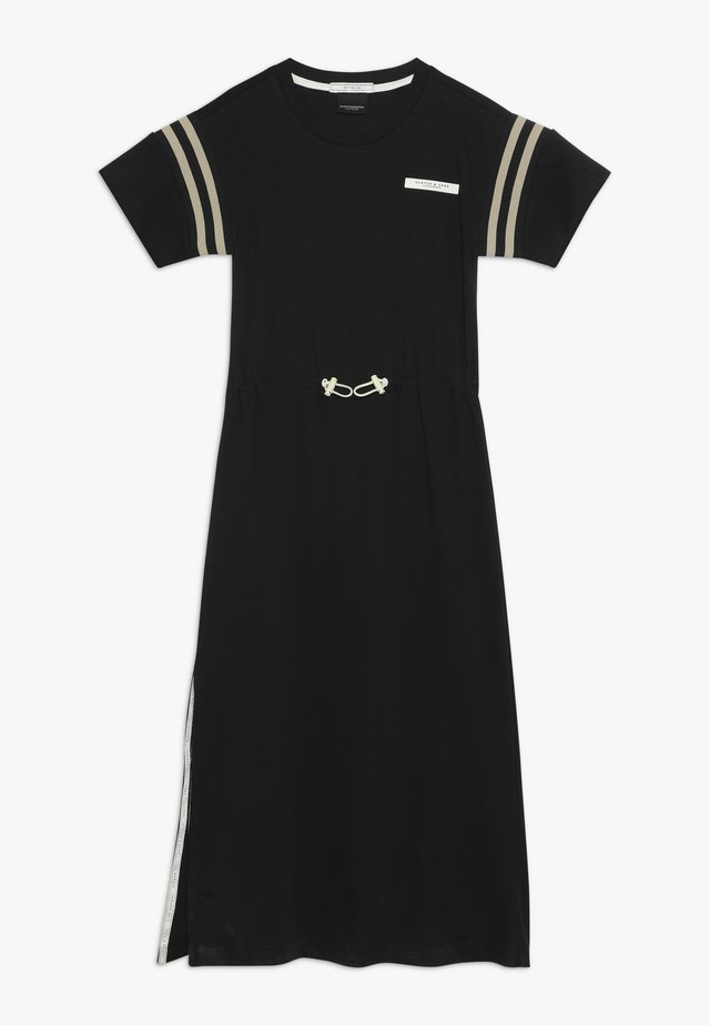 CLUB NOMADE SPORTY T-SHIRT DRESS - Jersey dress - black