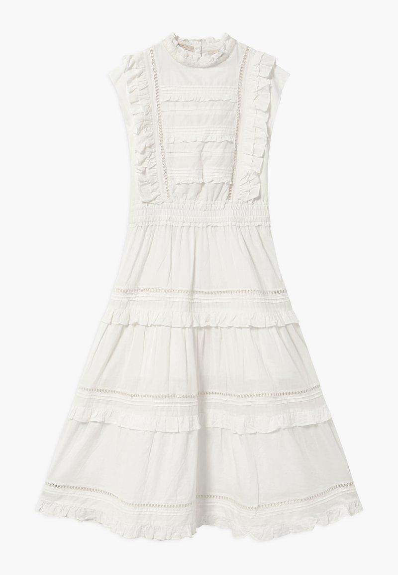 Scotch & Soda - Długa sukienka - off white