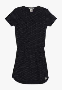 Scotch & Soda - DRESS WITH RUFFLES - Žerzejové šaty - dark blue - 0