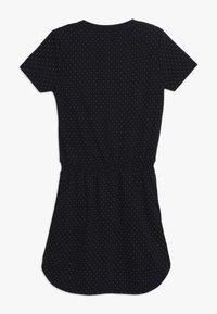 Scotch & Soda - DRESS WITH RUFFLES - Žerzejové šaty - dark blue - 1