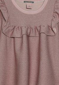 Scotch & Soda - LONG SLEEVE TOP WITH RUFFLE BIB - Långärmad tröja - blush melange - 3
