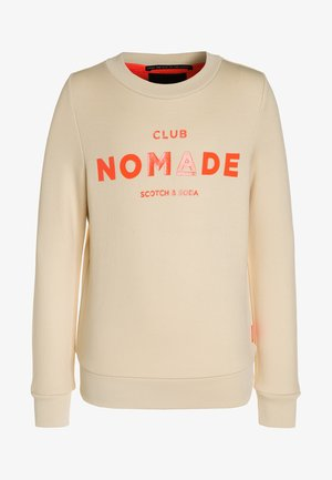 CLUB NOMADE CREW NECK  - Felpa - ecru