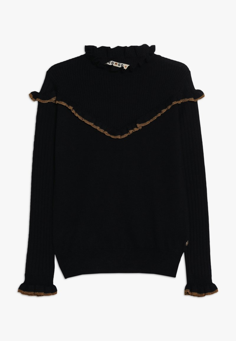 Scotch & Soda - CREW NECK WITH RUFFLES - Trui - night