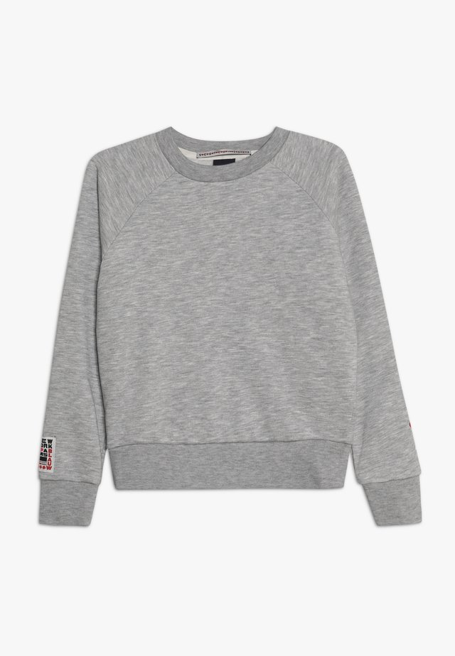 WITH VARIOUS ARTWORKS - Sweater - grey melange