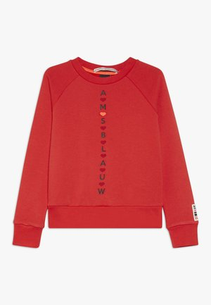 WITH VARIOUS ARTWORKS - Sweater - red clash