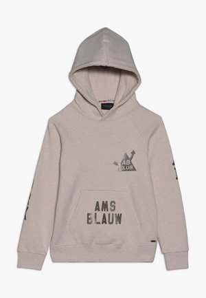 HOODIE WITH VARIOUS ARTWORKS - Mikina s kapucí - pink