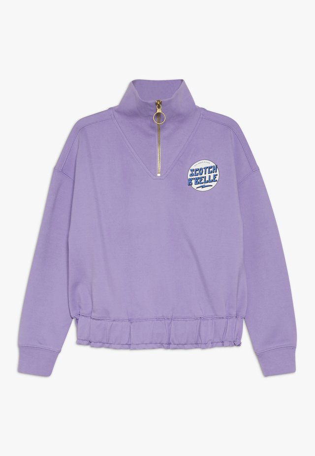 HALF ZIP - Sweater - lavender