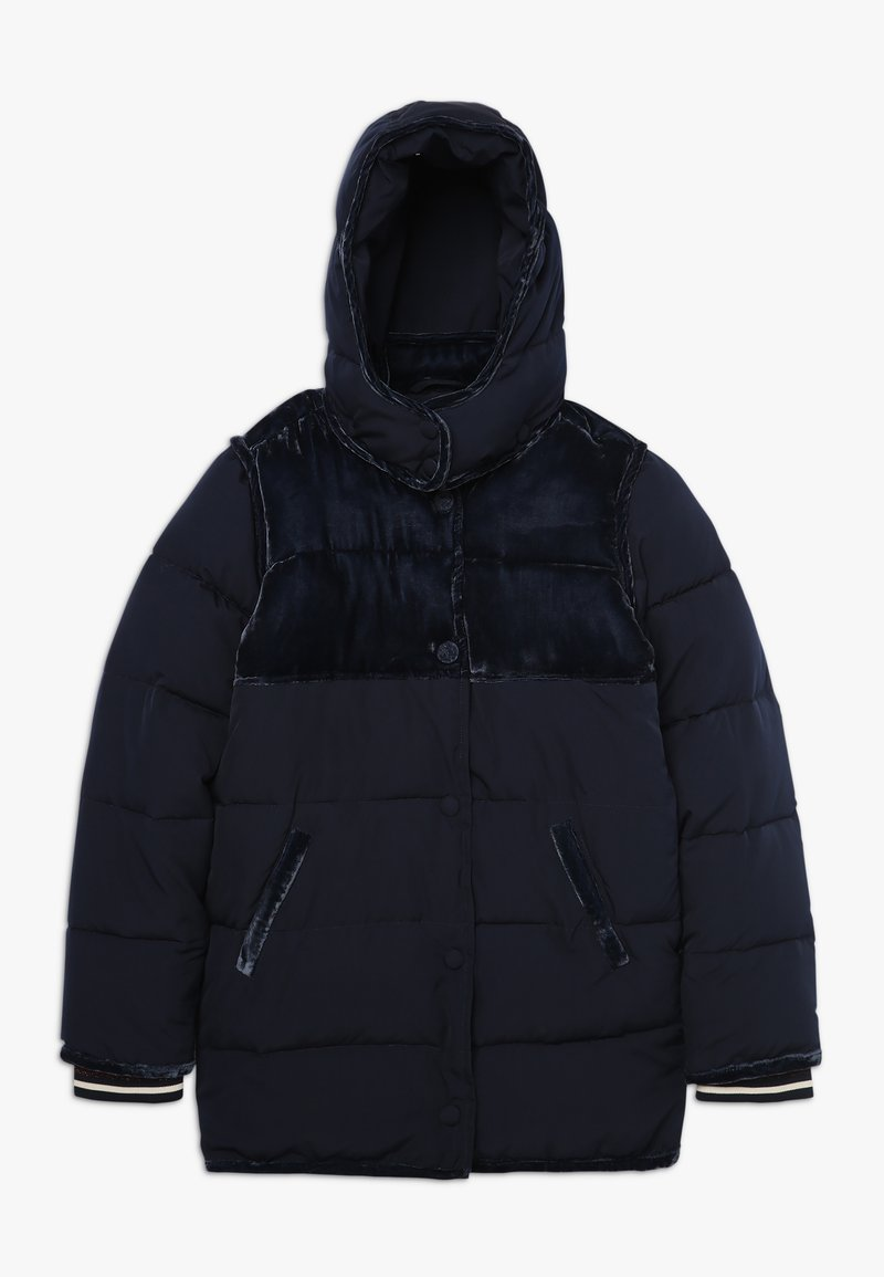 Scotch & Soda - LONGER LENGTH PADDED JACKET WITH CONTRAST  - Winterjacke - night