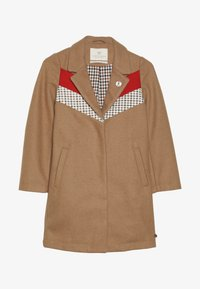 Scotch & Soda - TAILORED JACKET IN BONDED QUALITY WITH COLOUR - Classic coat - camel - 2